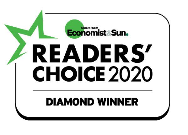 Diamond Readers Choice Award Winner